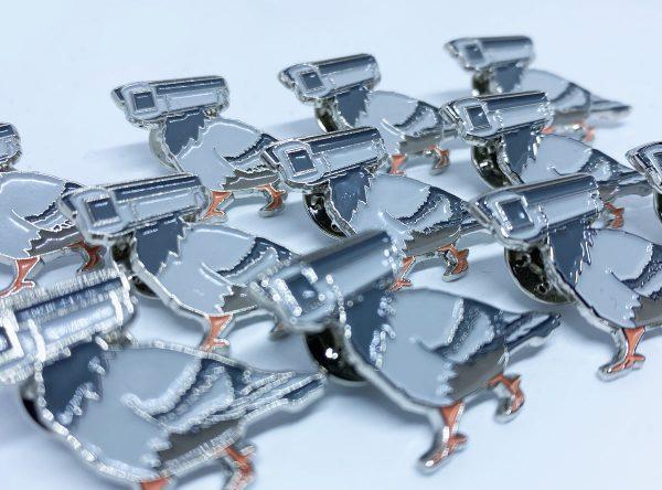 pigeon pins surveillance resistance day
