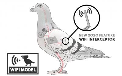 WiFi Pigeon Drone