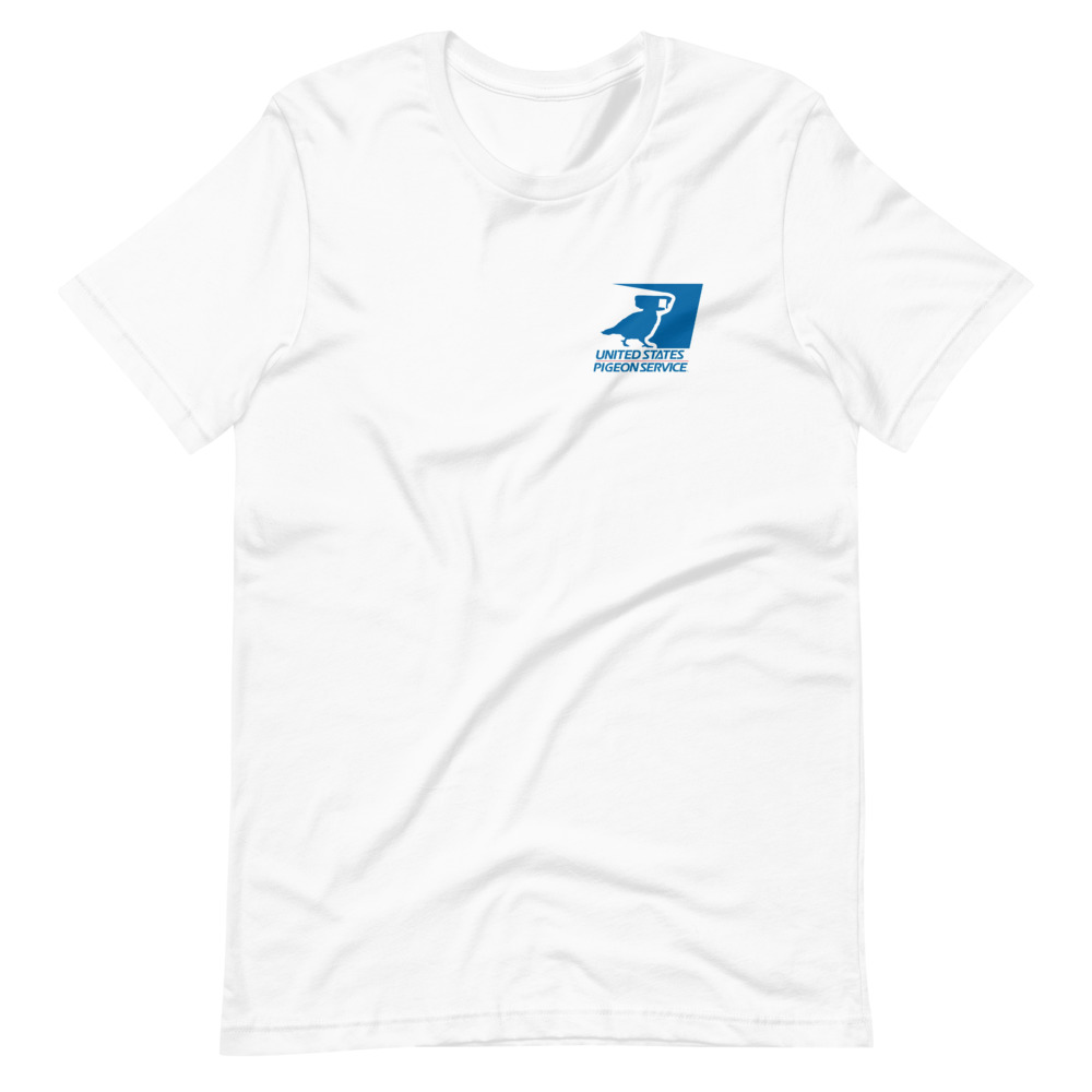 USPS Pigeon Service tshirt